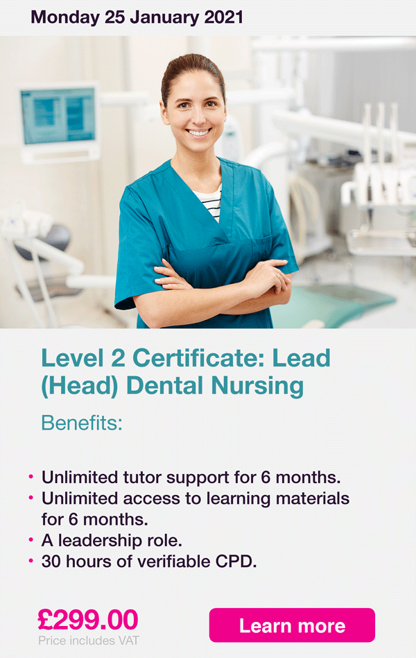 Lead DN Course Advert