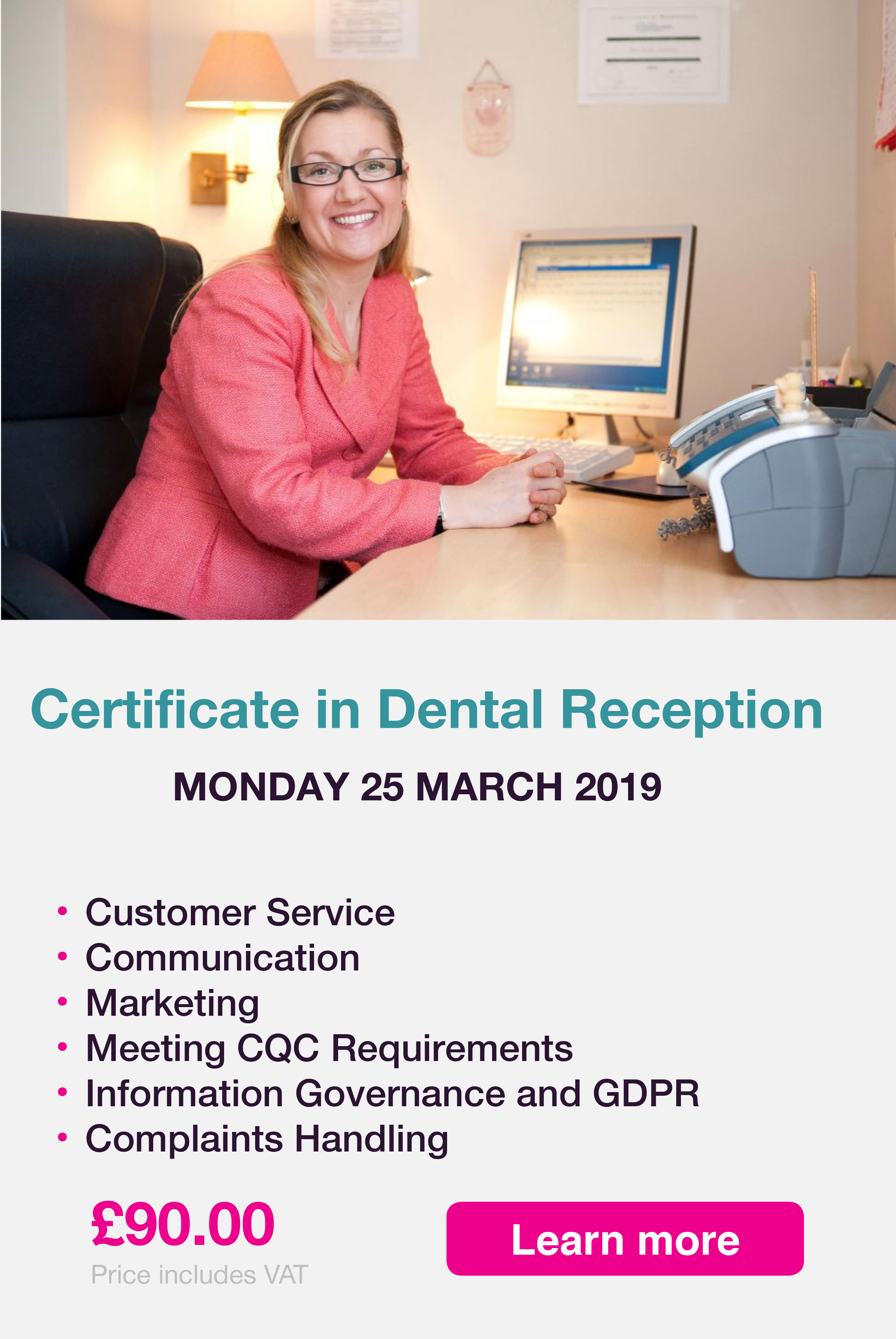 Dental reception banner 25032019