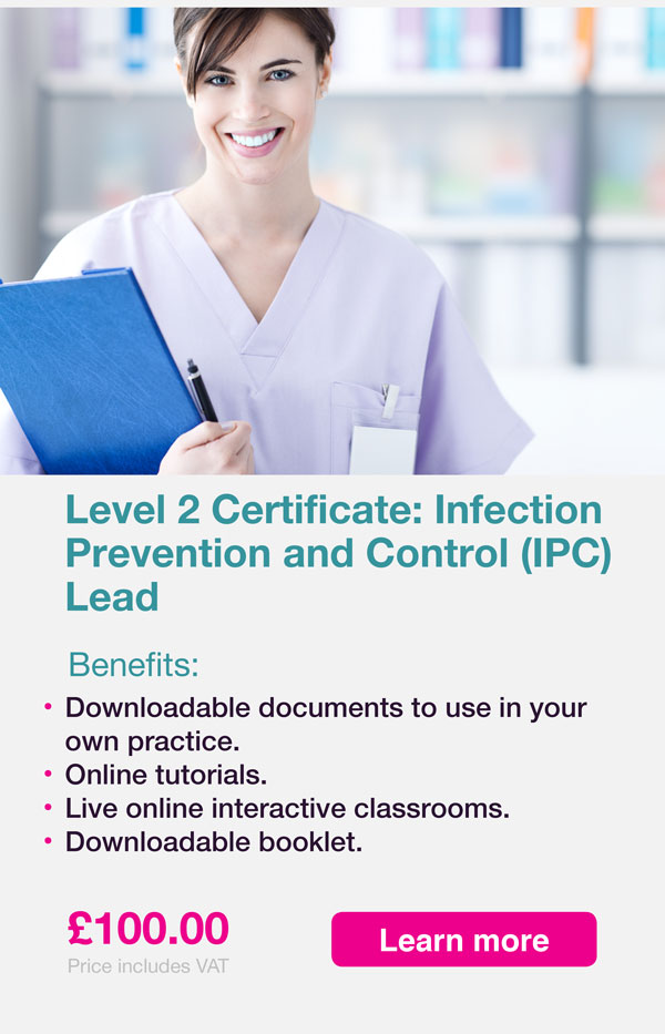 L2 Infection control advert