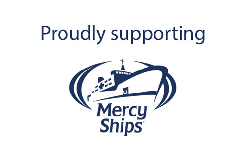 mercy ships supporter